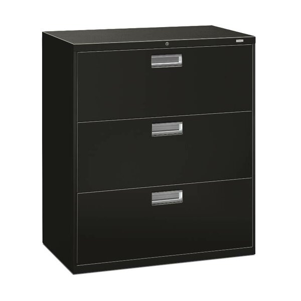 Brigade 600 Series 3-Drawer Lateral Filing Cabinet by HON