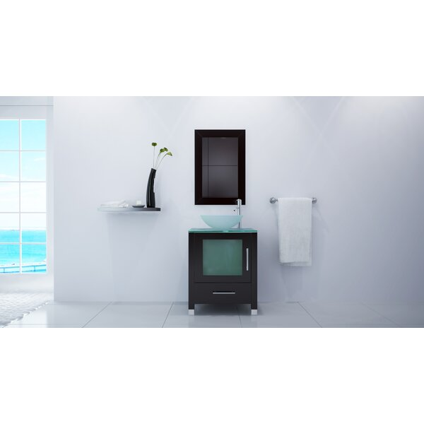 24 Single Bathroom Vanity Set by JWH Living