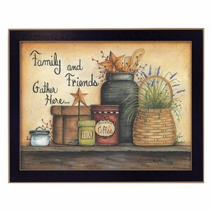 'Family and Friends' Framed Graphic Art Print by Trendy Decor 4U
