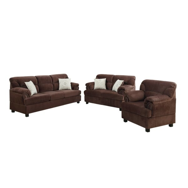 Crean 3 Piece Living Room Set by Red Barrel Studio