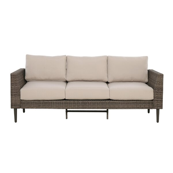 Gainell Sofa and Coffee Table Deep Seating Group with Cushion by Latitude Run