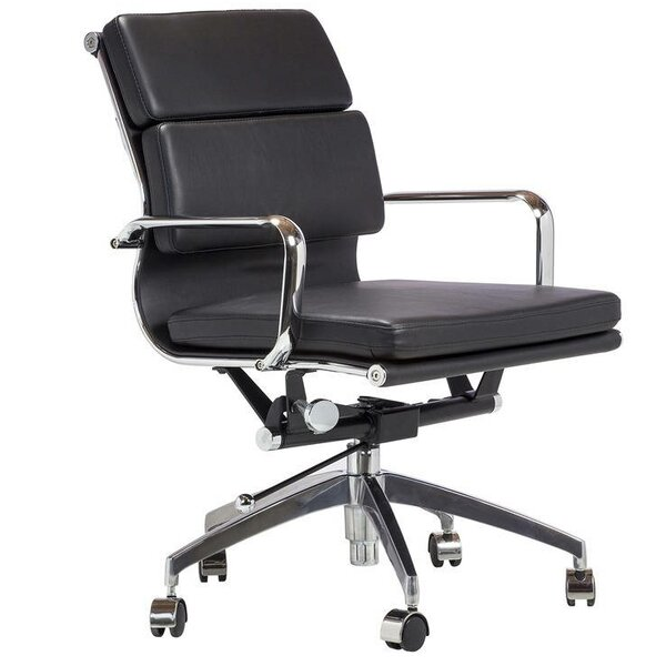Santucci Ergonomic Genuine Leather Executive Chair by Brayden Studio