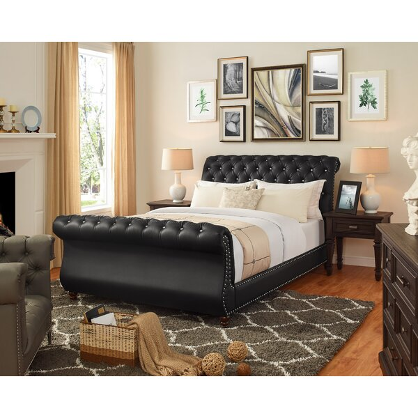 Aceves Upholstered Platform Bed by Darby Home Co
