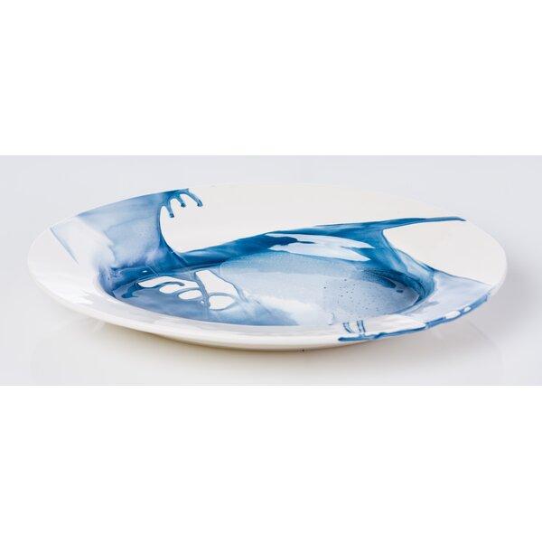 Splash Round Serving Platter by Abigails