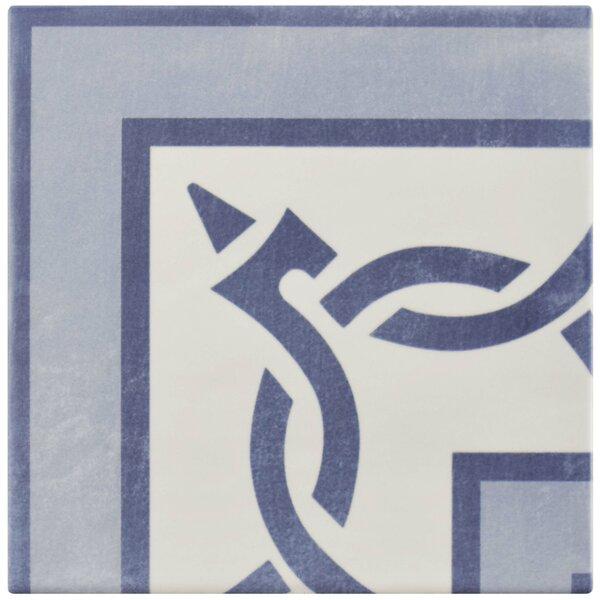 Haute 5.88 x 5.88 Ceramic Field Tile in Blue by EliteTile