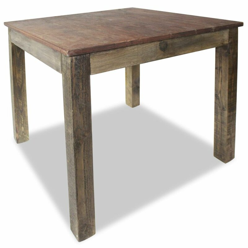 Foye Solid Reclaimed Wood Dining Table