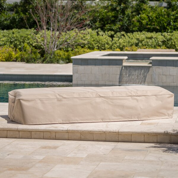 Outdoor Waterproof Fabric Chaise Lounge Cover (Set of 4) by Freeport Park
