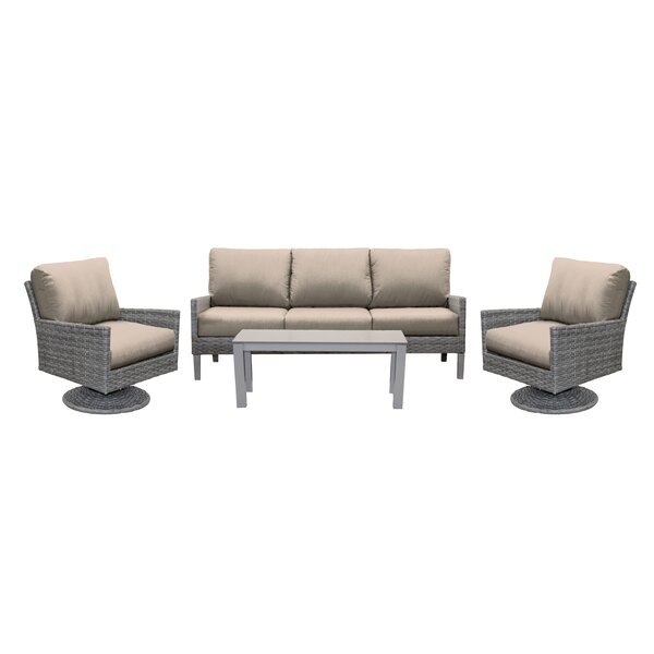 Macklin Outdoor Conversation Set by Ebern Designs