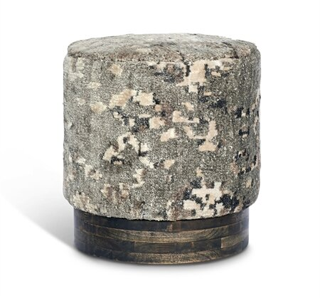 Delaney Round Accent Stool by Interlude