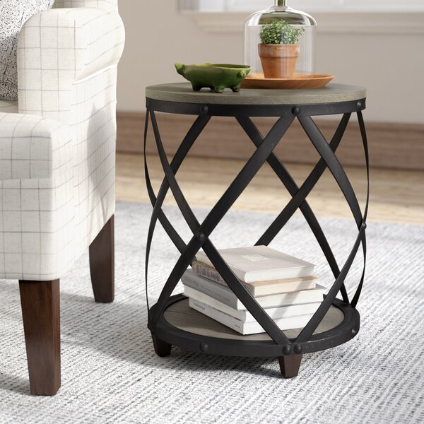 Rubino End Table by Laurel Foundry Modern Farmhouse