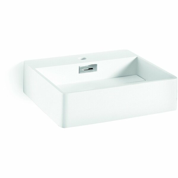 Momon Stone Rectangular Vessel Bathroom Sink by AGM Home Store