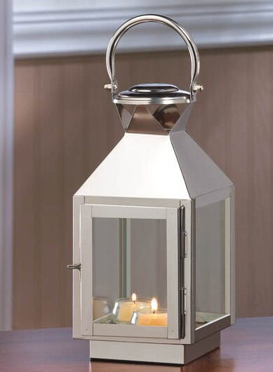 Stainless Steel Lantern by Zingz & Thingz