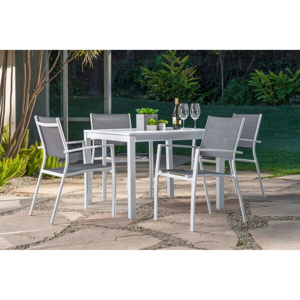 Lebron 5 Piece Patio Dining Set by Latitude Run