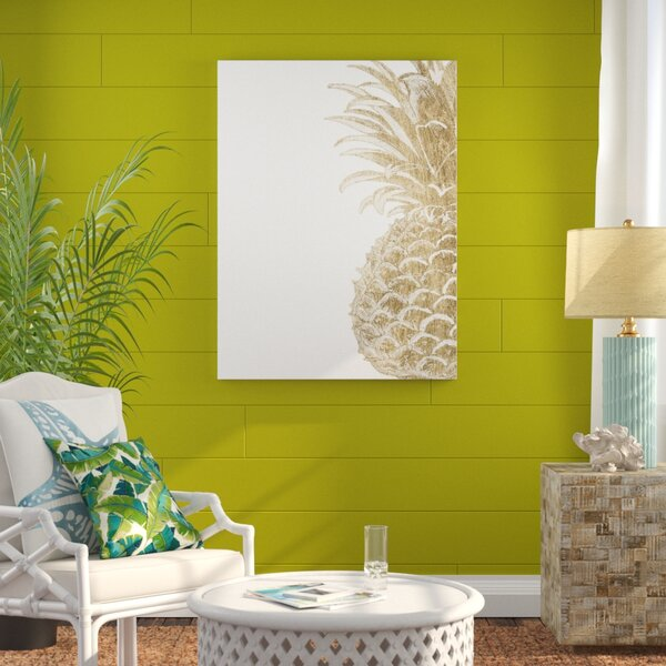 Pineapple Art Wayfair
