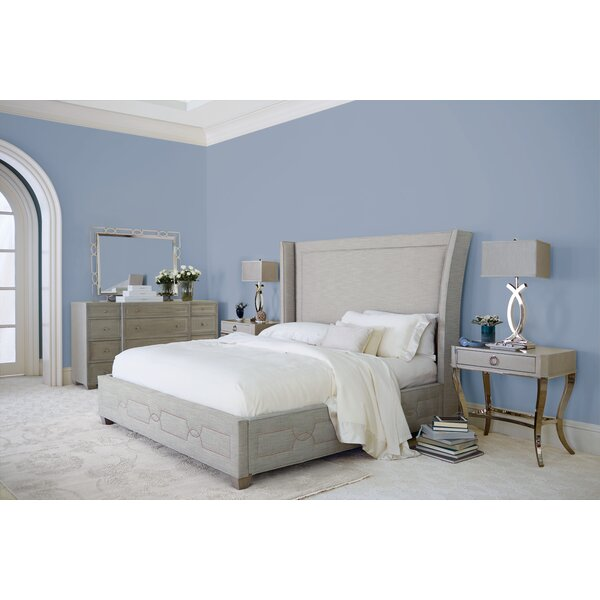 Criteria Upholstered Standard Bed by Bernhardt