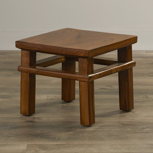 Ira Square Accent Stool by August Grove