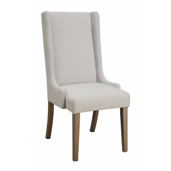 Reinhardt Wingback Upholstered Dining Chair (Set of 2) by Gracie Oaks