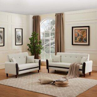 Briony 2 Piece Standard Living Room Set by Corrigan Studio®