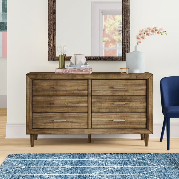 Isabella 6 Drawer Double Dresser by Foundstone