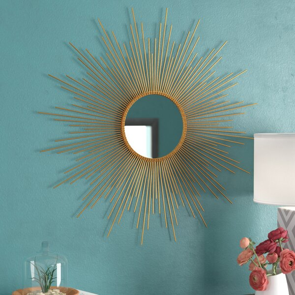 Denby Accent Mirror by Mercury Row