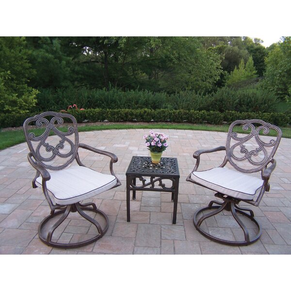 Pacifica 3 Piece Conversation Set with Cushions by Oakland Living