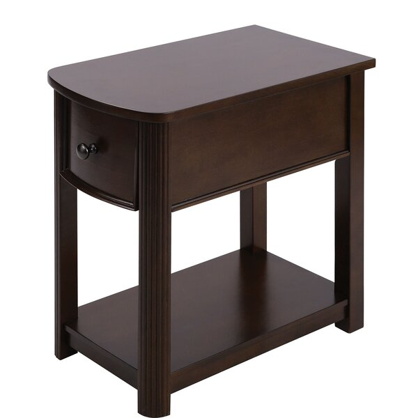 Beazer End Table With Storage By Canora Grey