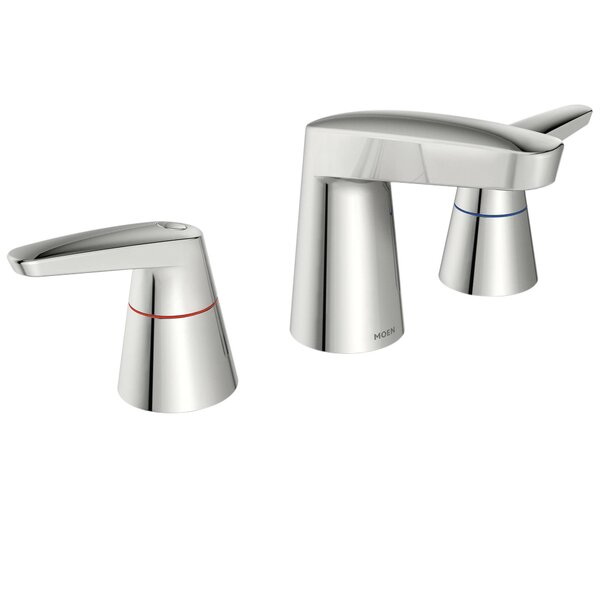 M-Dura Widespread Standard Bathroom Faucet by Moen