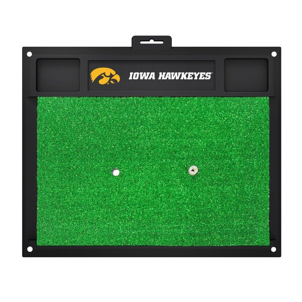 NCAA University of Iowa Golf Hitting Mat by FANMATS