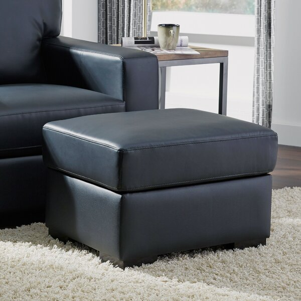 Bricelyn Standard Ottoman by Ebern Designs
