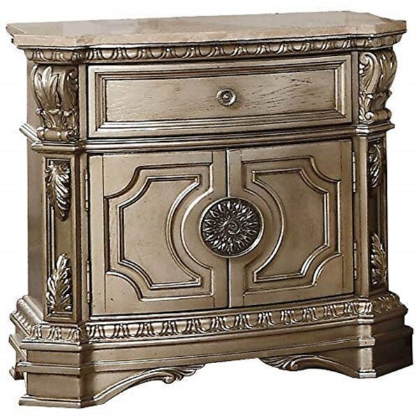 Dunshee 1 Drawer Nightstand by House of Hampton