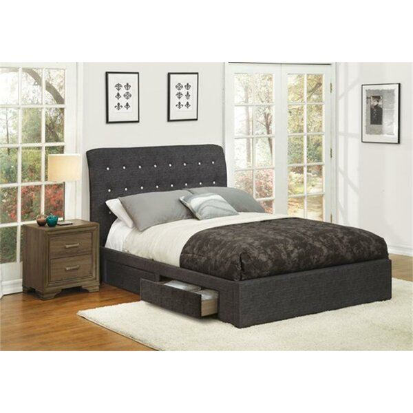 Tomah Upholstered Storage Platform Bed by Red Barrel Studio