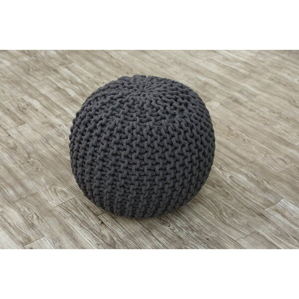 Lares Tufted Pouf by Wrought Studio