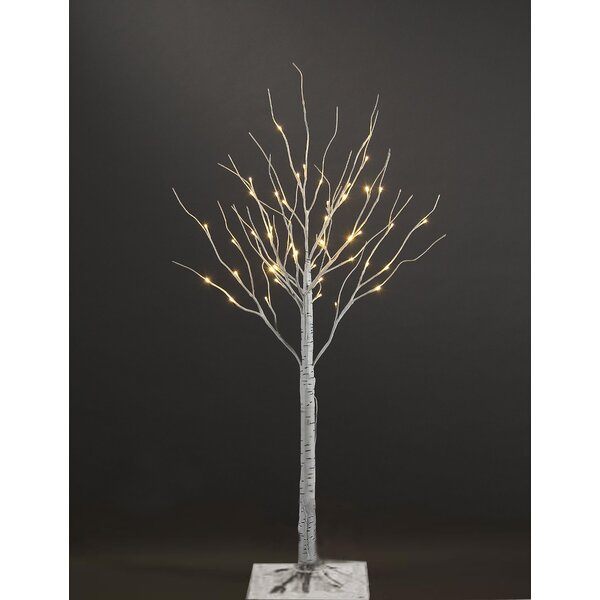 Artificial Birch Christmas Tree with 36 LED by Patch Magic