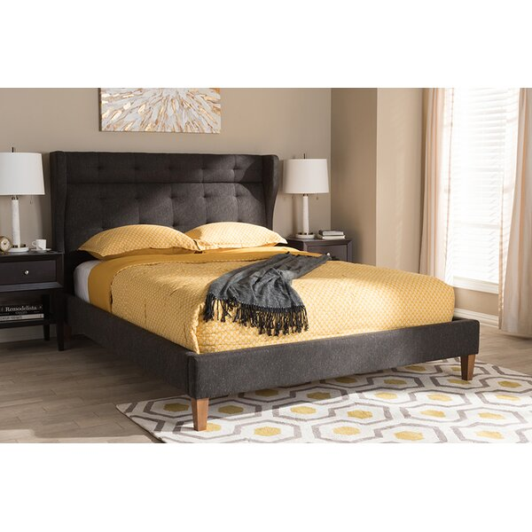 Ochlocknee Upholstered Platform Bed by Ivy Bronx
