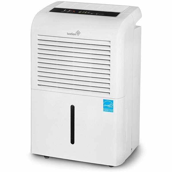 Ivation 70 Pint Dehumidifier with Casters by Ivati