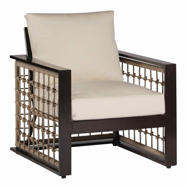 Marina Lounge Patio Chair with Cushions by Summer Classics