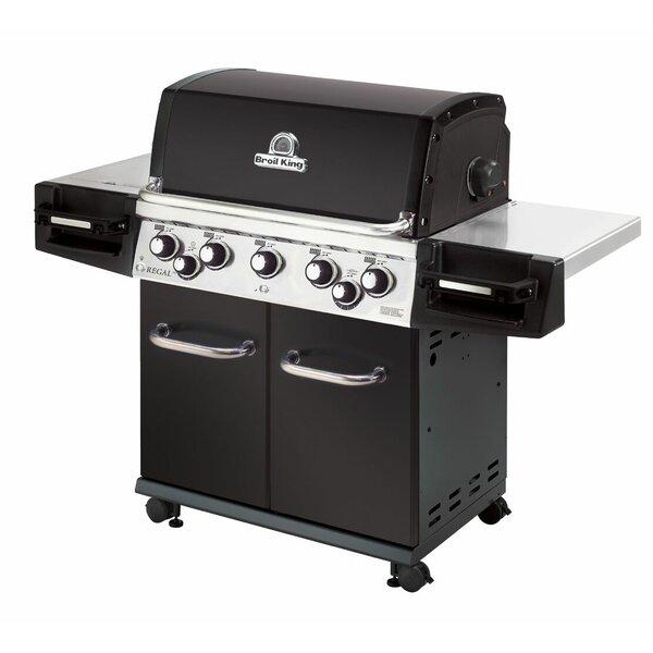 Regal 590 Pro 5-Burner Gas Grill with Side Burner by Broil King