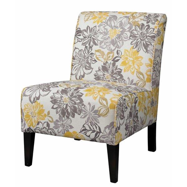 Inola Fabric Upholstered Slipper Chair By Charlton Home