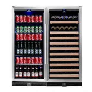 98 Bottle Dual Zone Built-In Wine Cooler
