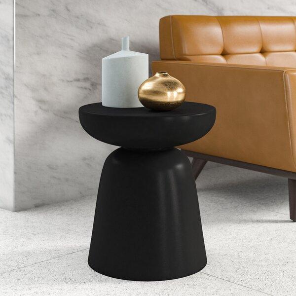 Shoping Marvella Pedestal End Table