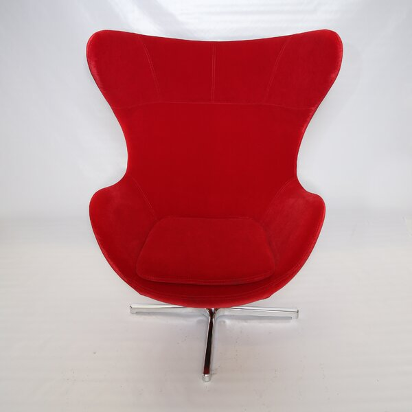 Muna Swivel Lounge Chair by La Viola Décor