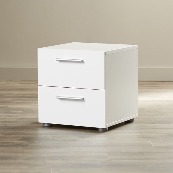 Pannell 2 Drawer Nightstand by Wade Logan