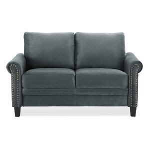 Best Reviews Charlton Home Chisolm Loveseat