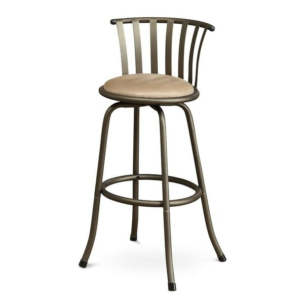Pavone Adjustable Height Swivel Bar Stool (Set of 2) by Winston Porter