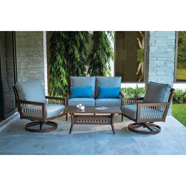 Echo Bay Deep Seating Group with Cushion by Eddie Bauer