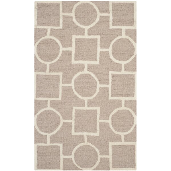 Martins Beige Area Rug by Wrought Studio