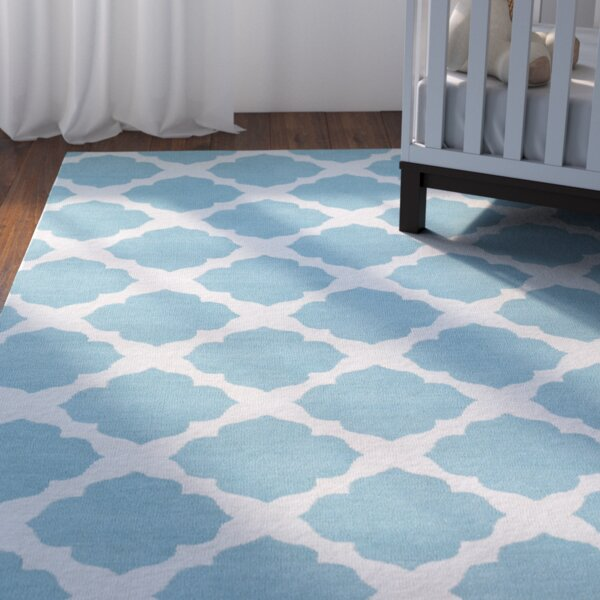 Marilyn Turquoise Area Rug by Viv + Rae