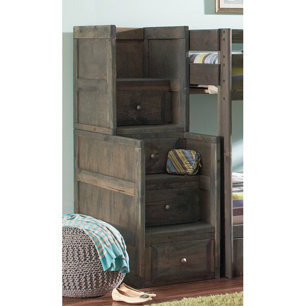 Malina Youth 4 Drawer Stairway Chest by Viv + Rae