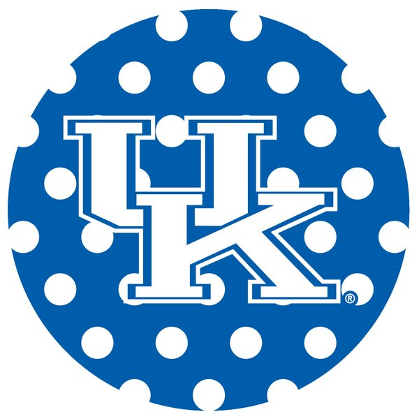 University of Kentucky Dots Collegiate Coaster (Set of 4) by Thirstystone