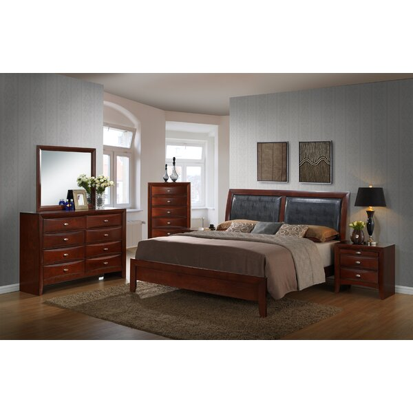 Alidge 5 Piece Bedroom Set by Grovelane Teen